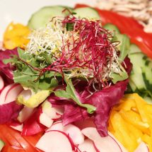 Variety Of Salad In Montania