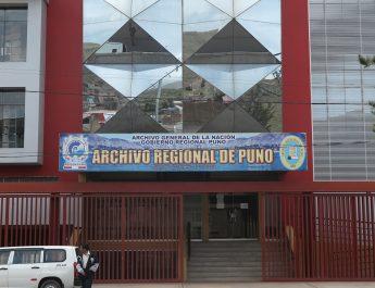Fachada del Archivo Regional